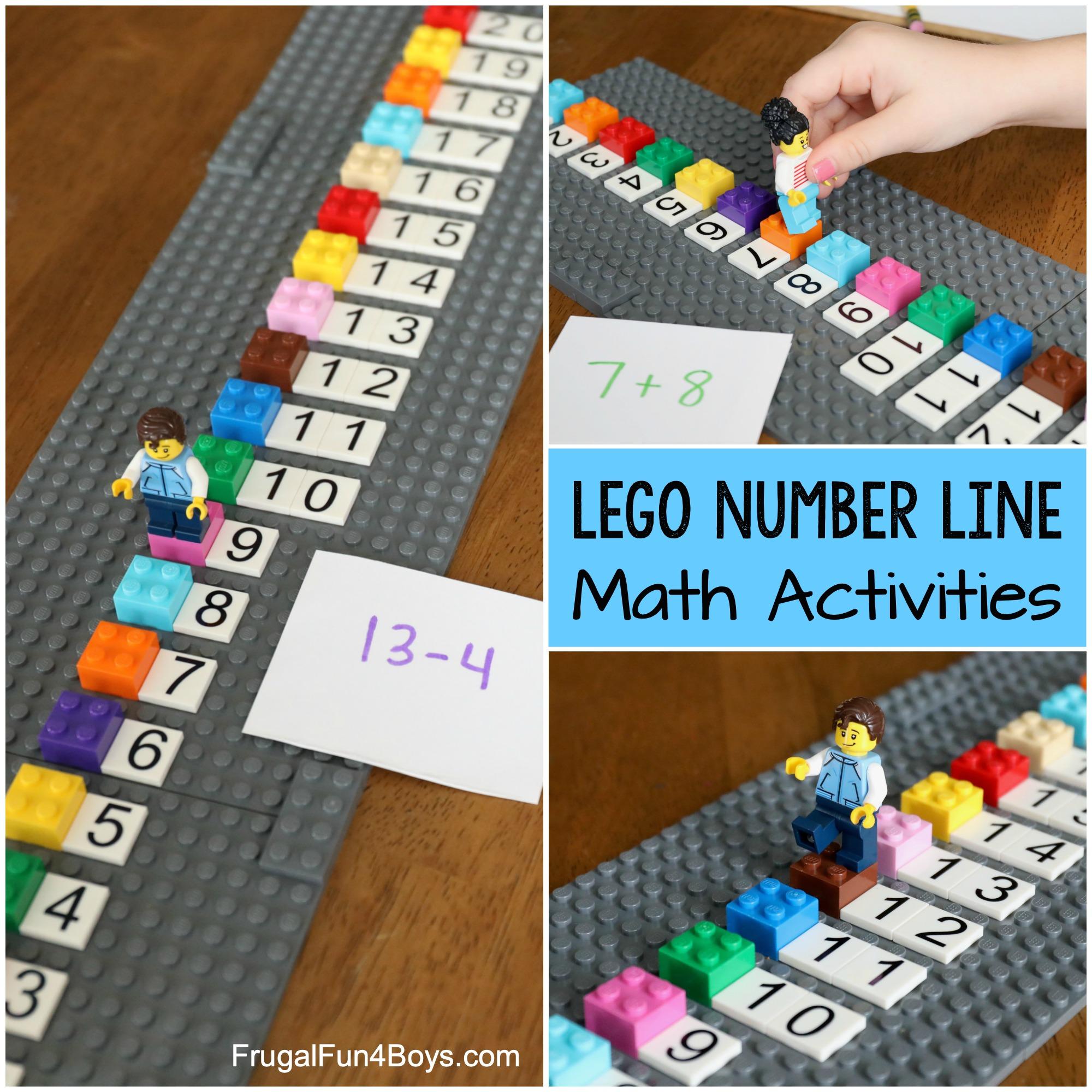 LEGO number line