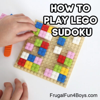 Make Your Own LEGO Sudoku Game