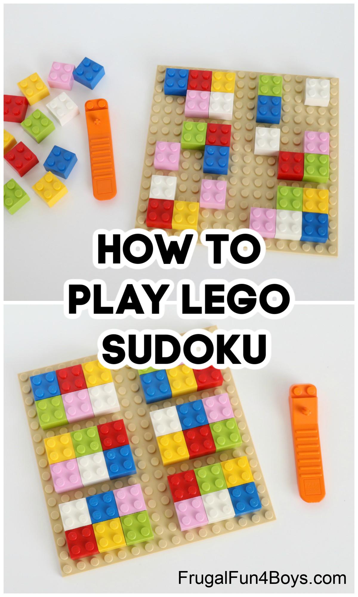 LEGO Sudoku Game