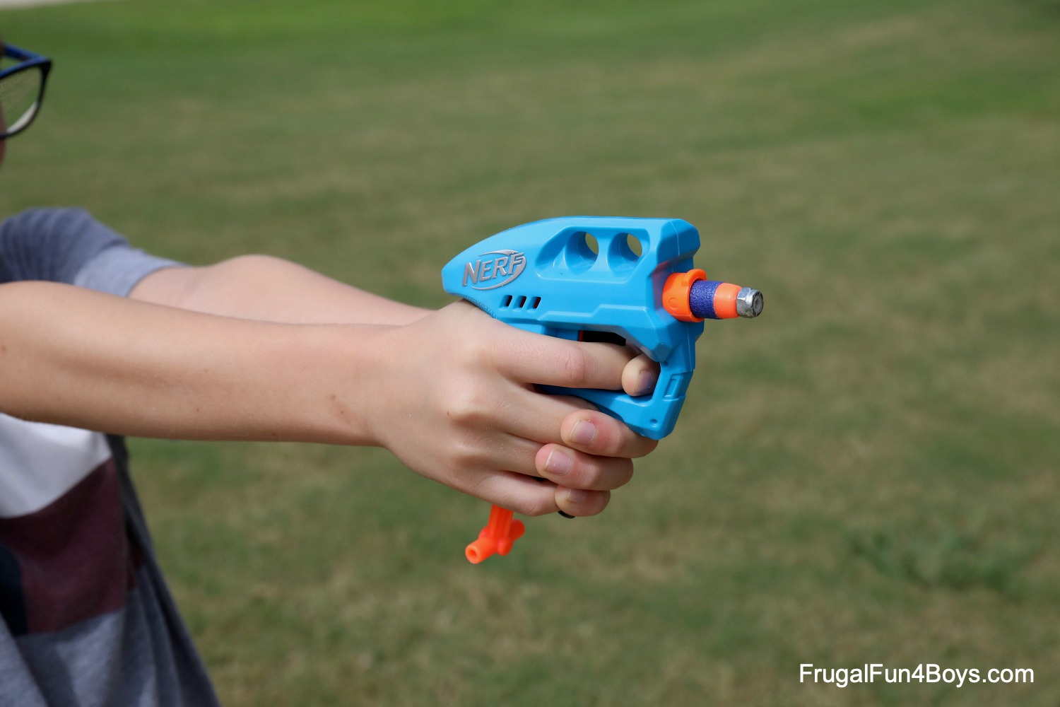 Nerf gun science experiment