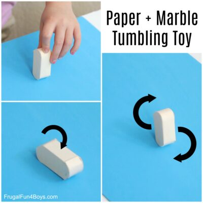 Make a Paper Tumbling Toy