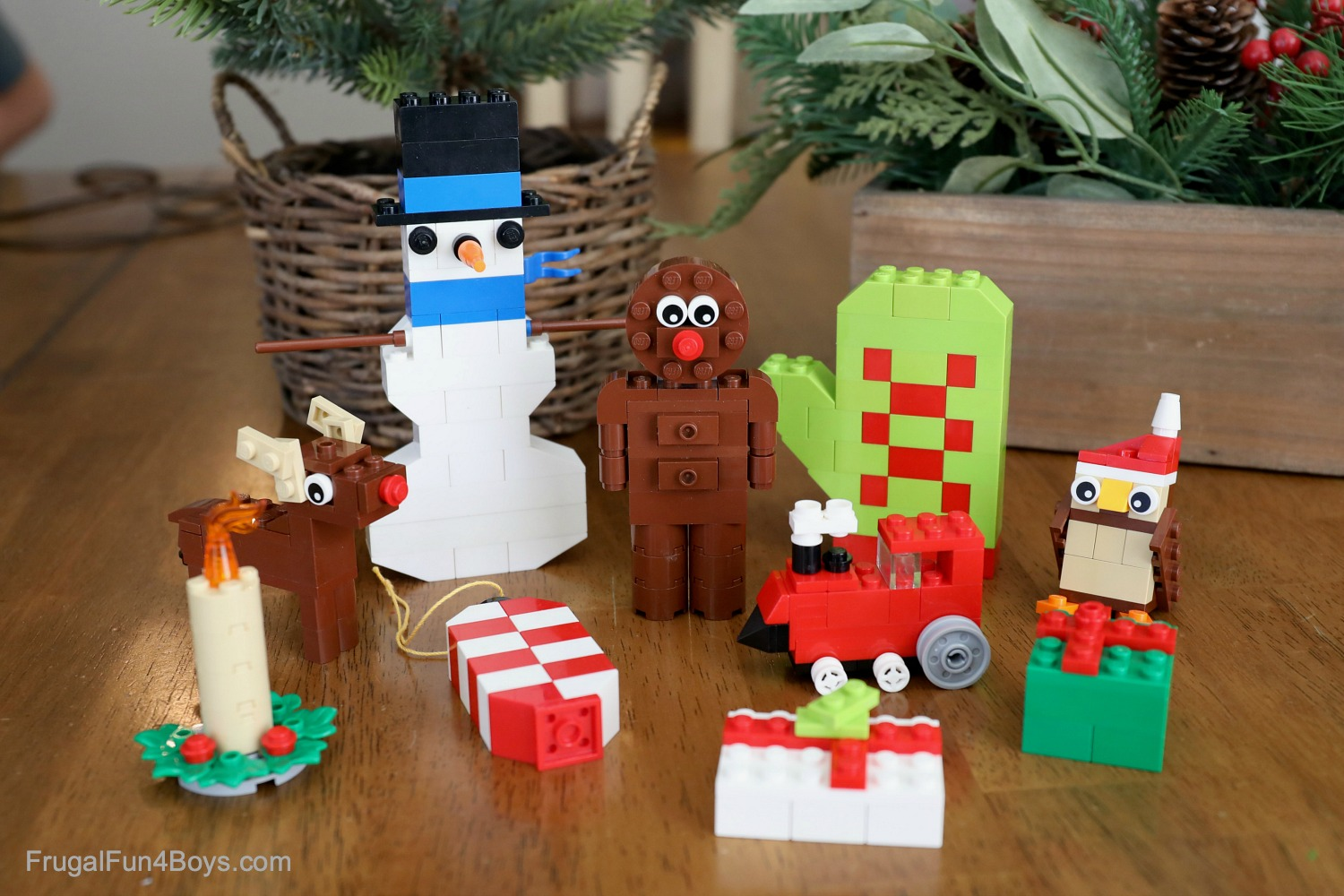 Lego Advent Calendar Challenge