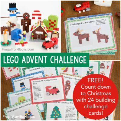 LEGO Advent Calendar {Building Challenges}