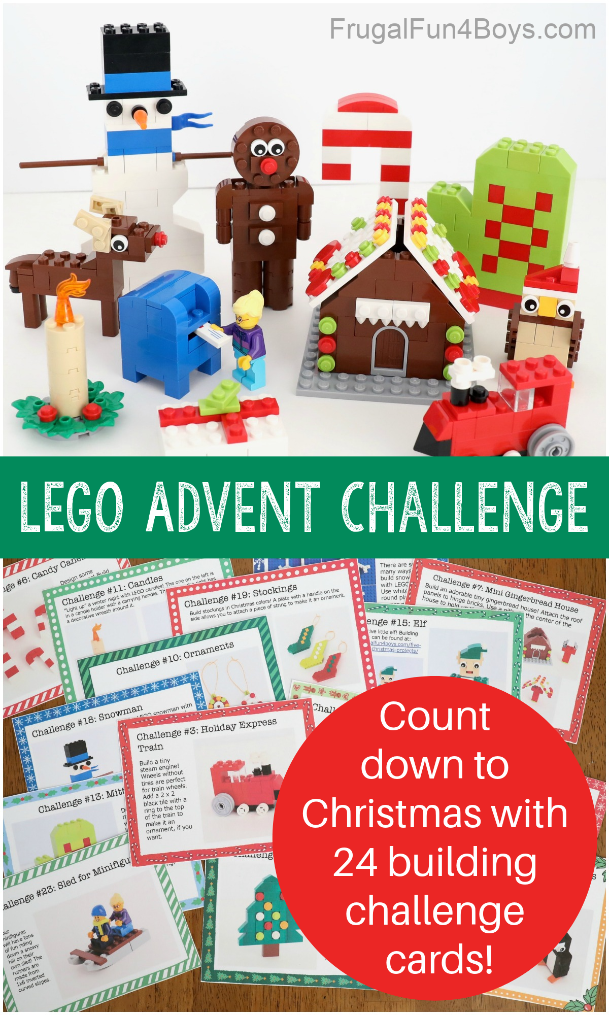 LEGO Advent Calendar Challenge - 24 Building Ideas