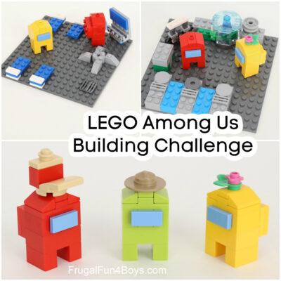 Among Us LEGO Building Challenge