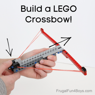 Build an Awesome LEGO Crossbow
