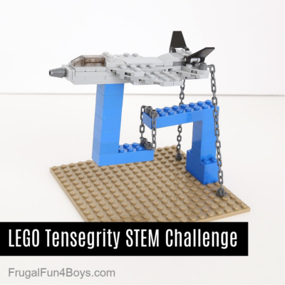 LEGO Tensegrity Structures