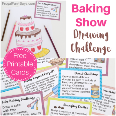 Baking Show Drawing Challenge