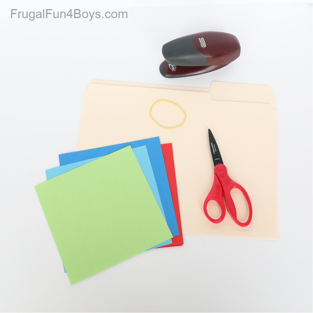 Paper Airplane Launcher Supplies