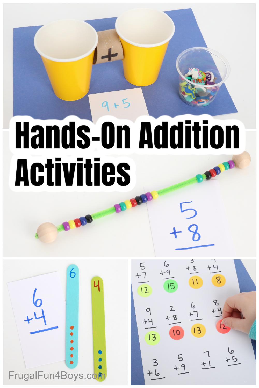 Fun addition activities