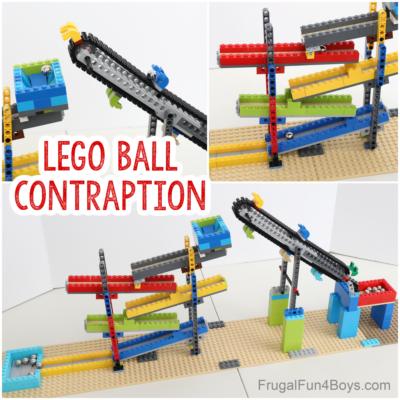 Build a LEGO Ball Contraption