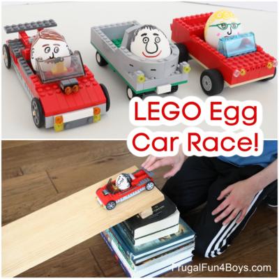 LEGO Egg Car Race
