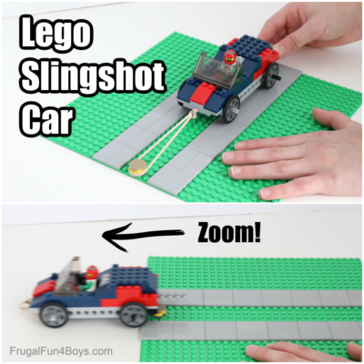 Build a LEGO Slingshot Car