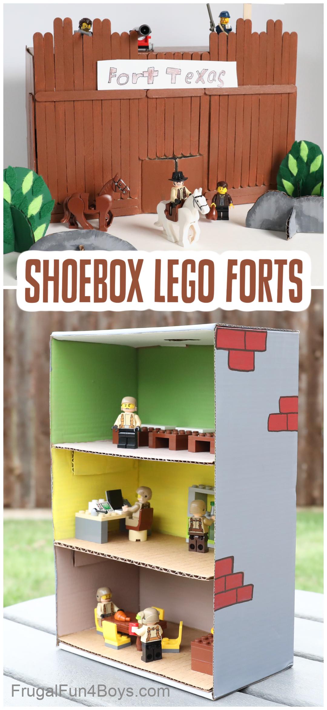 Shoebox LEGO Forts