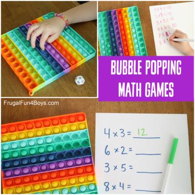 Bubble Pop Math Games