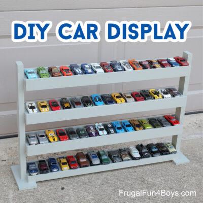 Amazing DIY Hot Wheels Car Display
