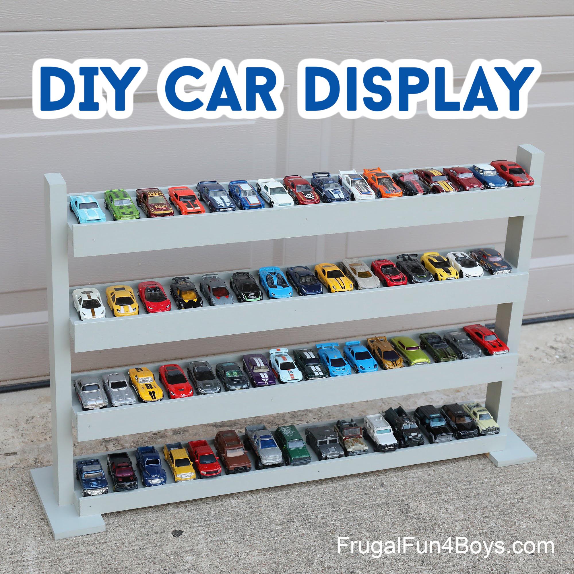 Hot Wheels Car Display Case
