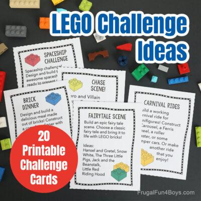 LEGO Challenge Ideas
